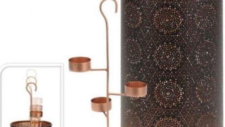 Dekorativní svícen na 4 čajové svíčky vysoký 35 cmProGarden KO-A04420340