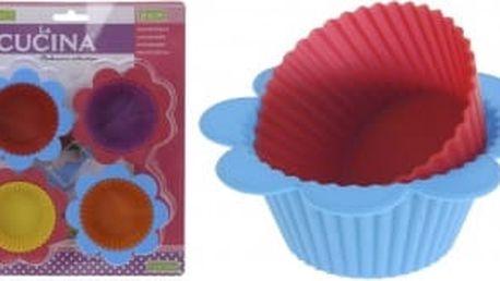 Forma na muffiny silikonová, sada 8 ks EXCELLENT KO-641501190