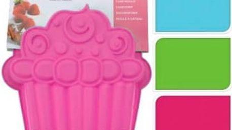 Forma na dort ve tvaru muffinu, růžová ProGarden KO-641500970cerv
