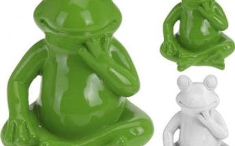 Zahradní dekorace žába malá 14 x 11 cm ProGarden KO-795200330