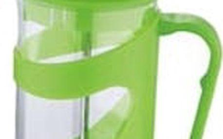 Konvička na čaj a kávu French Press 350 ml zelená RENBERG RB-3100zele