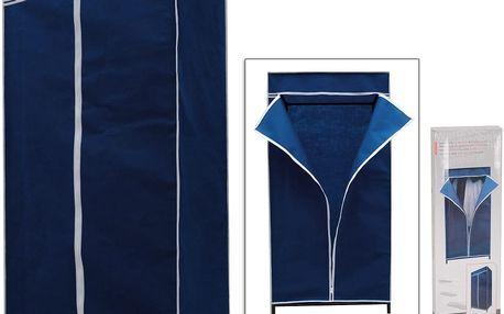 Textilní skládací skříň ELEGANT 75x160x50 cm