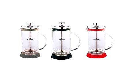 Blaumann BL 1441 Konvička na čaj a kávu French Press nerez 350 ml 3 barvy