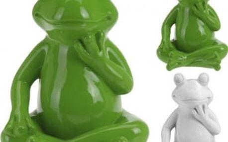Zahradní dekorace žába velká 40 x 30 cm ProGarden KO-795200350