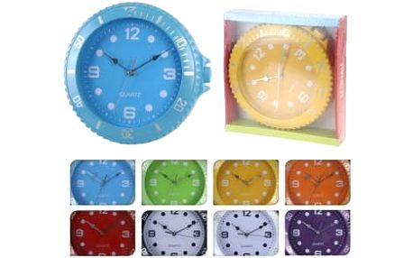 Hodiny nástěnné 30 cm, fialové ProGarden KO-566000040fial