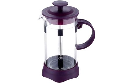 Konvička na čaj a kávu French Press 600 ml fialová RENBERG RB-3108fial