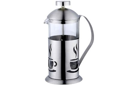 Konvička na čaj a kávu nerez French Press 600 ml RENBERG RB-3104