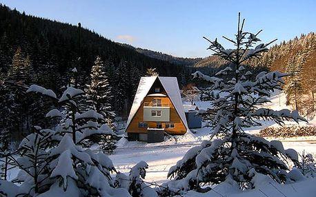 Zimní dovolená v Beskydech pro 3 osoby