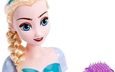 Frozen - česací hlava Elsa