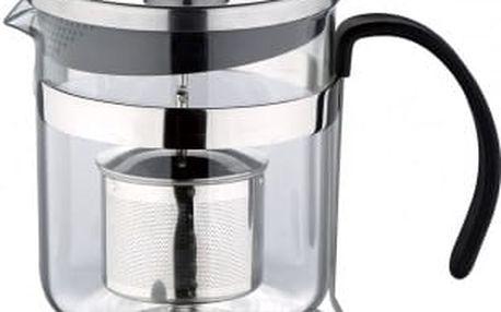 Konvička na čaj s čajítkem nerez 1000 ml RENBERG RB-3111