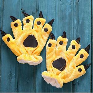 Dámské rukavice s drápy - více barev