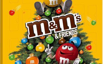 Adventní kalendář M&M'S a přátelé 361g