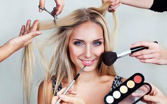Holčičí den: Péče o vlasy i nehty, líčení, masáž