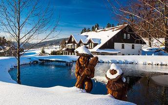 4denní vánoční pobyt pro 2 s polopenzí a saunou v Rokytnici v Chatě pod Lipami