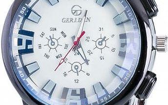 Pánské kovové hodinky - několik barev ciferníku
