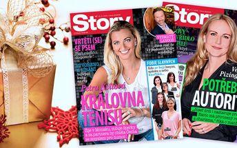 Čtení pro vaše blízké: Předplatné časopisu Story