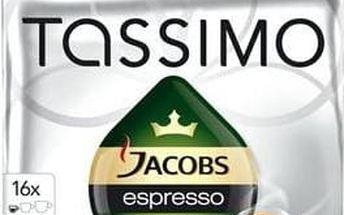 Kávové kapsle Tassimo Jacobs Krönung Espresso 128g