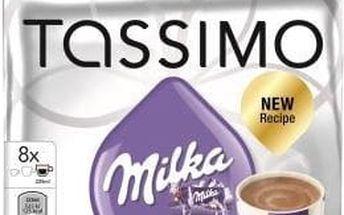 Kávové kapsle Tassimo Milka horká čokoláda 8 ks