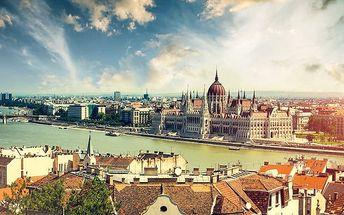 3 až 5denní pobyt se snídaněmi pro 2 osoby v hotelu Lucky v Budapešti