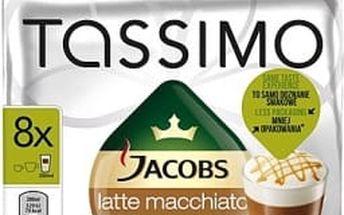 Kávové kapsle Tassimo Jacobs Krönung Latte Macchiato Caramel 286g
