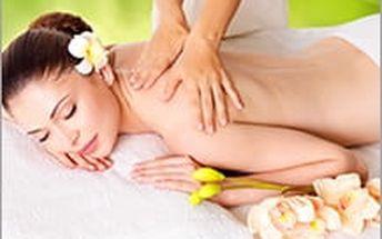 Kombinace masáže zad s bahenním zábalem z mořských řas. Účinná hloubková regenerace vašeho těla.