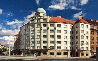 2 nebo 3denní pobyt se snídaněmi v hotelu Vítkov*** v Praze pro 2 osoby