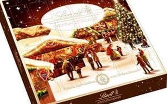 Lindt adventní kalendář Xmas Market 115g - hnědý