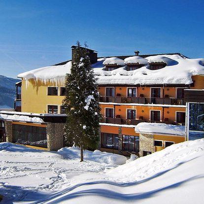 Zimní idylka v rakouských Alpách