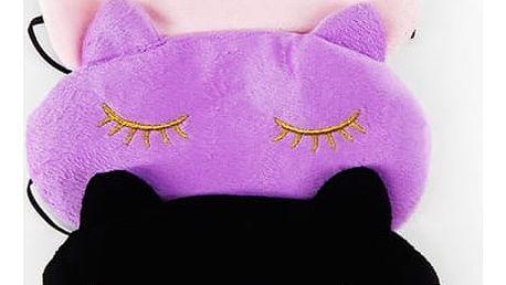 Kočičí maska na spaní - 3 barvy
