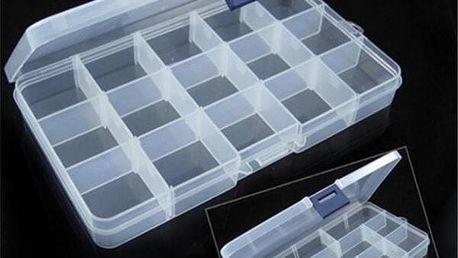 Box na spojovací materiál - nastavitelné buňky