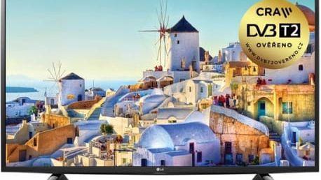 Televize LG 49UH603V černá + dárek