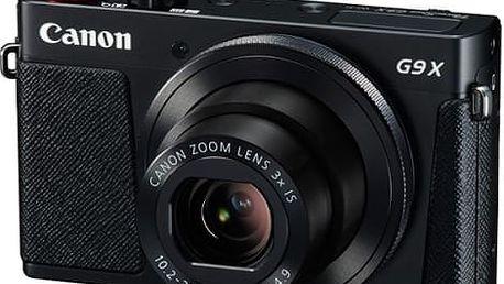 Digitální fotoaparát Canon PowerShot G9 X černý + dárek
