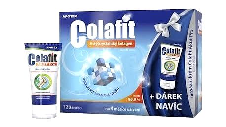 COLAFIT 120 kostiček + COLAFIT AKUT 50 ml 2016