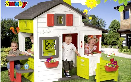 Smoby domeček Friends House Floralie