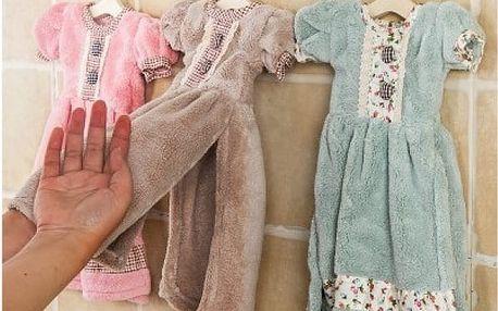 Dětský ručník šatičky Princess