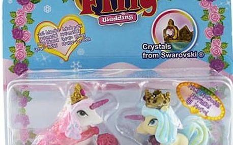Filly Winter Wedding svatební pár - Penelope a Philip