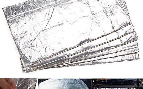 Protihluková izolace do auta - 6 kusů