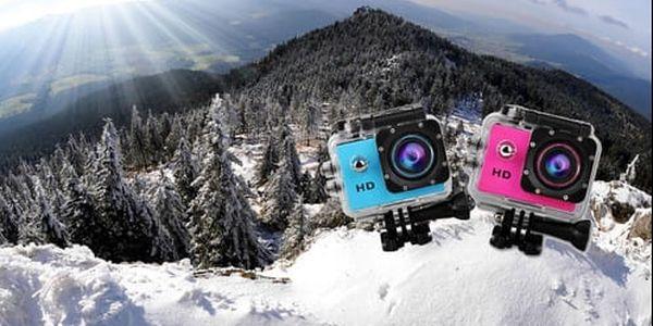 Outdoorová vodotěsná HD kamera s poštovným zdarma