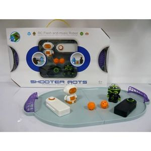 Dětský robotický fotbal Shooter Bots