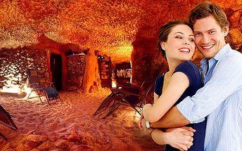 Vstup do solné jeskyně v Praze pro 2 - 3 osoby