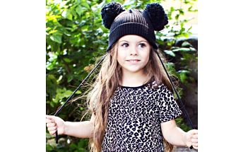 Dětská zimní čepice s ušima