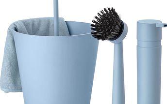 Sada na mytí nádobí Bucket, světle modrá - doprava zdarma!