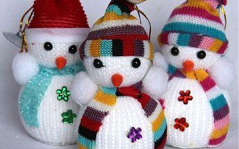 Zimní dekorace Sněhulák