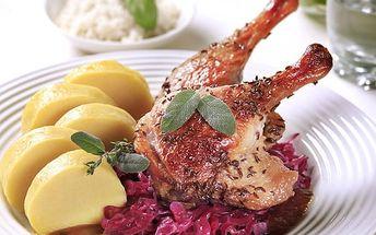 Kachní hody v restauraci Švejk v Praze