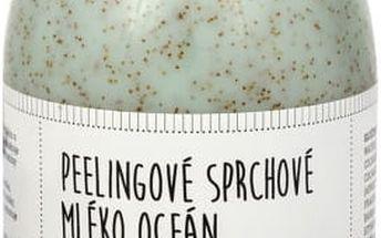 Sefiros Peelingové sprchové mléko Oceán (Body Peeling Cleansing Milk) 500 ml + SEFIROS Vzorek kosmetiky z Mrtvého moře