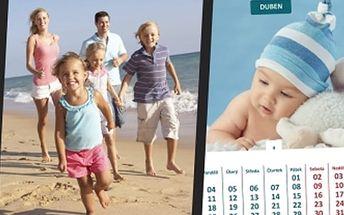 Fotokalendář z vašich fotografií - 8 motivů na výběr, různé rozměry, kvalitní provedení.