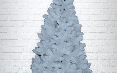 Umělý vánoční stromek - Borovice Gold bílá 150 cm