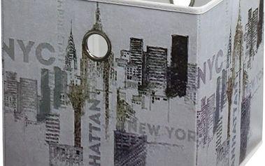 Skládací krabice Nyc Multicolor, 32/32/32 cm
