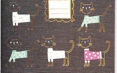 Sešit Go Stationery Love Cats