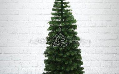 Umělý vánoční stromek - Jedle Gold úzká 150 cm